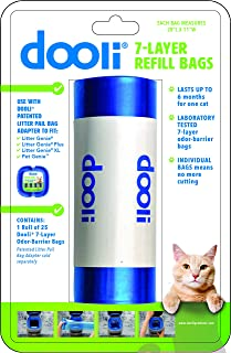 Litter Genie Compatible Bag Refills, 28 x 11 Inches, Roll of 25 Bags
