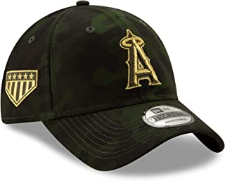 New Era Los Angeles Angles 2019 MLB Armed Forces Day 9TWENTY Adjustable Hat - Camo