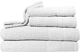 Kassatex Hammam Towel, White, Set of 6