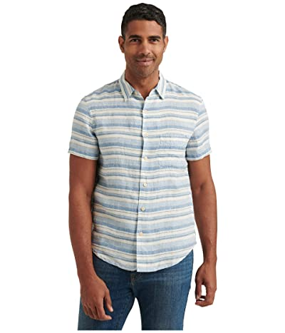 Lucky Brand Short Sleeve San Gabriel One-Pocket Shirt Men