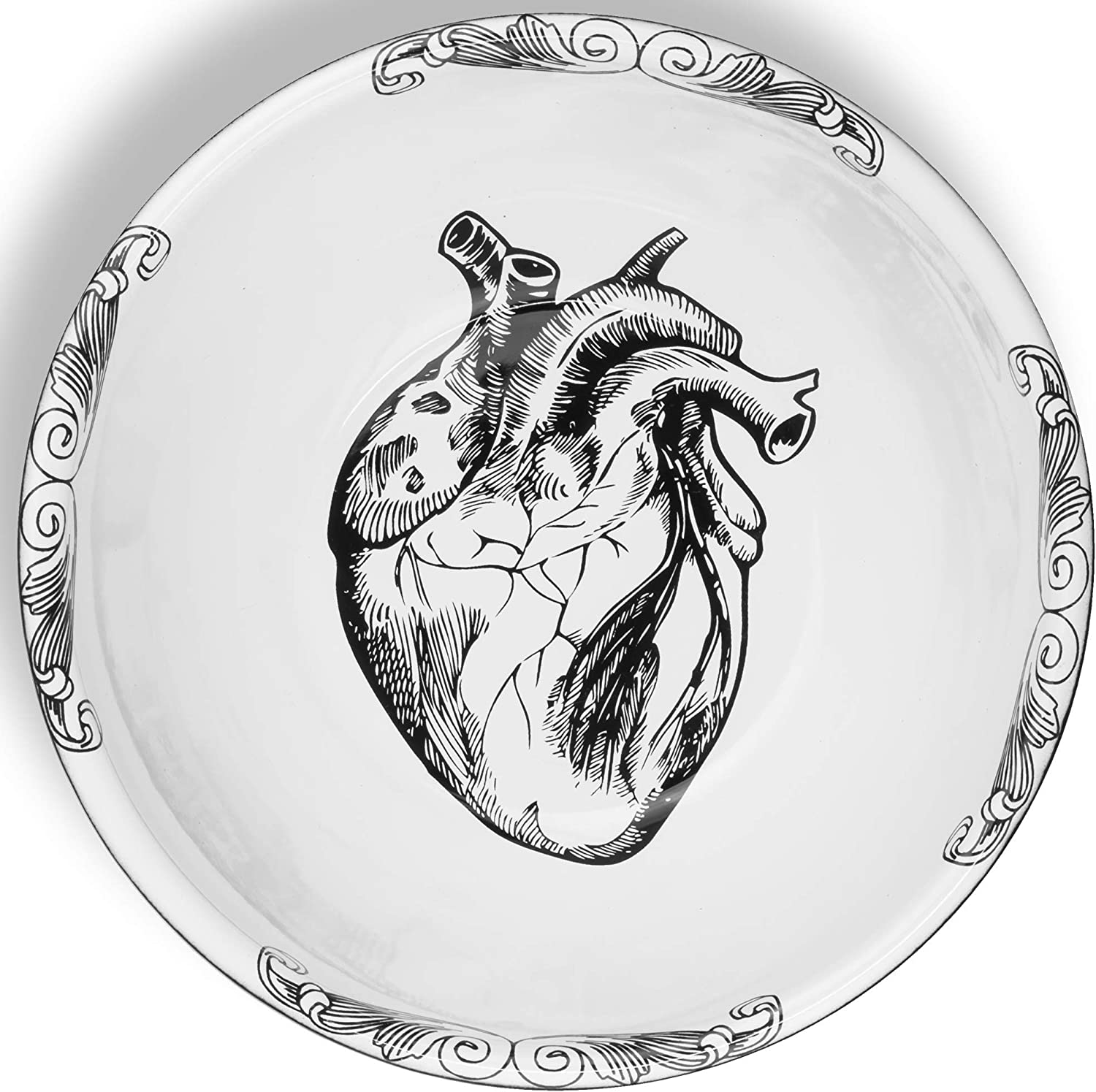 Enamel Peltre Heart Sales of SALE items from new works Design Bowl 20 Charlotte Mall cm 2.7 x 7 to i in 7.8