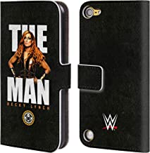 Official WWE Image Becky Lynch The Man Leather Book Wallet Case Cover Compatible for iPod Touch 5G 5th Gen