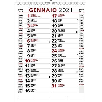Calendario 2021 da muro olandese personalizzabile BASIC_Fermento