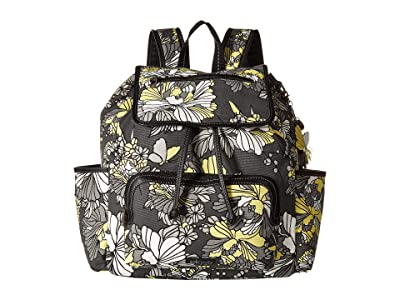 Sakroots Fleetwood Backpack (Slate Flower Blossoms) Backpack Bags