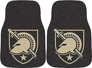 FANMATS NCAA US Military Academy Black Knights Nylon Face Carpet Car Mat