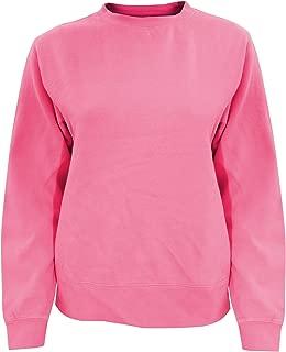 Womens/Ladies Crew Neck Sweatshirt (L) (Crunchberry)