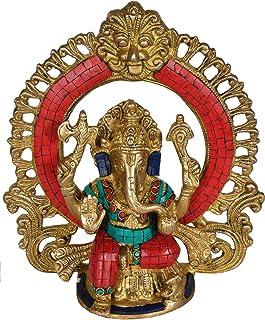 Lord Ganesh Statue Hindu God Ganesha Brass Sculpture India Decor Gifts