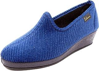 257b0cd1 Amazon.es: zapato cuña - Zapatillas de estar por casa / Zapatos para ...