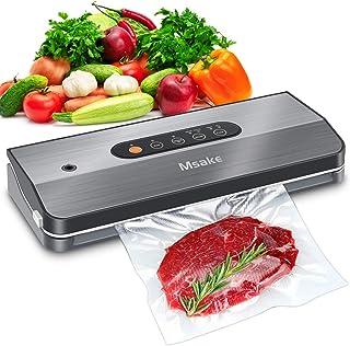 Machine Sous Vide Alimentaire Automatique - Msake Food Savers pour la conservation des aliments - Kit de Démarrage Complet...