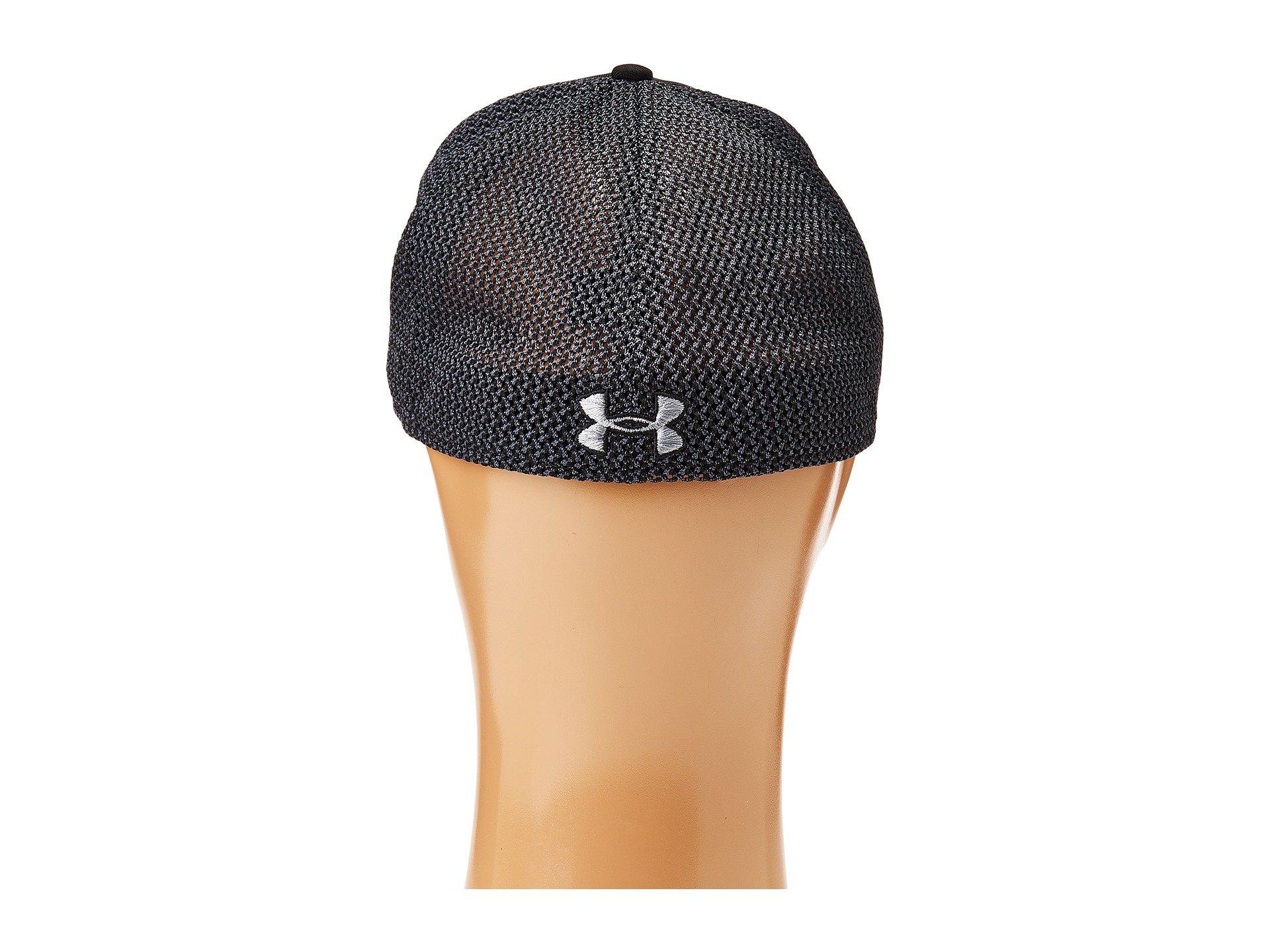 013efac0a84 Shop Under Armour Ua Twist Knit Low Crown Cap In Black Stealth Gray ...