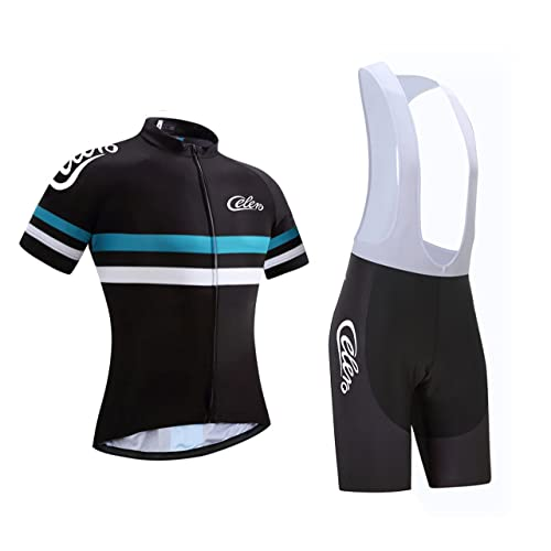 Celero Men s Cycling Suits Short Sleeve Bike Jersey and Bib Shorts ff5aac804