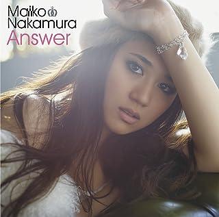 Answer(初回限定盤)(DVD付)