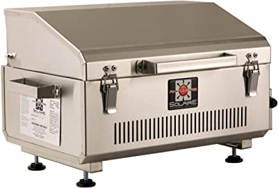 Solaire Anywhere Portable Infrared Propane Gas Grill, Marine Grade Stainless Steel