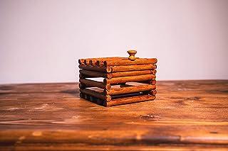 Porta gioie in legno, scrigno, contenitore, sopra mobile, forziere, artigianale