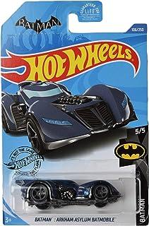 Hot Wheels Treasure Hunt Arkham Asylum Batmobile 106/250, Dark Blue