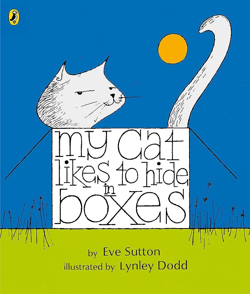 見つける代表してテロリストMy Cat Likes to Hide in Boxes (Picture Puffin) (English Edition)