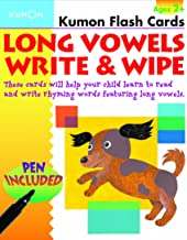 Long Vowels Write & Wipe (Kumon Flash Cards)