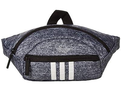 adidas Originals Originals National 3-Stripes Waist Pack (Onix Jersey/White) Bags