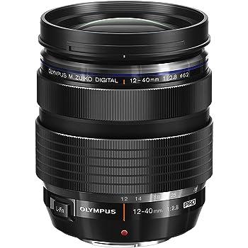 Olympus M.Zuiko Digital ED 12-40mm F2.8 PRO Objektiv (Universalzoom, geeignet für alle MFT-Kameras, Olympus OM-D und PEN Modelle, Panasonic G-Serie) schwarz