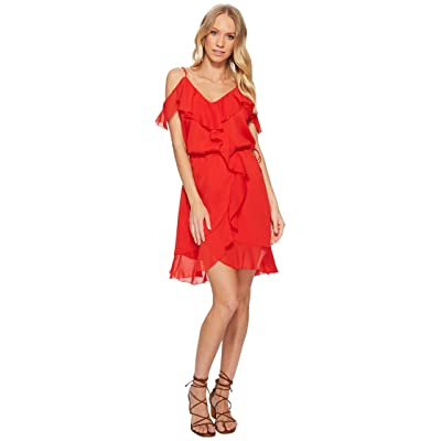 The Jetset Diaries Sintra Mini Dress (Crimson) Women