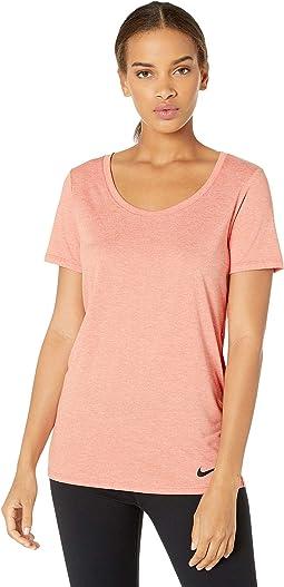 Nike Sportswear Heritage Mesh T Shirt Women white white pink quartz
