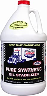 Lucas Oil 10131-PK4 Synthetic Oil Stabilizer - 1 Gallon (Pack of 4)