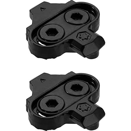 PRO BIKE TOOL Replacement Bike Cleats Without Cleat Plates - Compatible with Shimano MTB SPD Pedals (SH51) for Men & Women Mountain Bike Shoes - Bicycle Cleat Set for Mountain Biking & Indoor Cycling