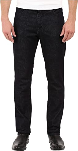 Slim Straight Denim in Tinted Rinse