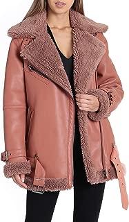 Best avec les filles faux shearling coat Reviews