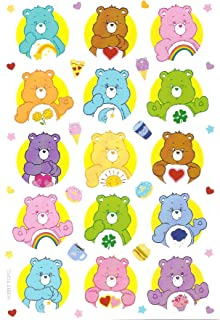 Care Bears Stickers, Single Package has 3 Sheets and 69 Stickers