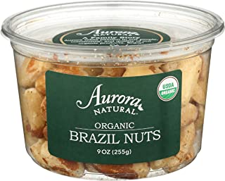 Aurora Products, Nuts Brazil Organic, 9 Ounce
