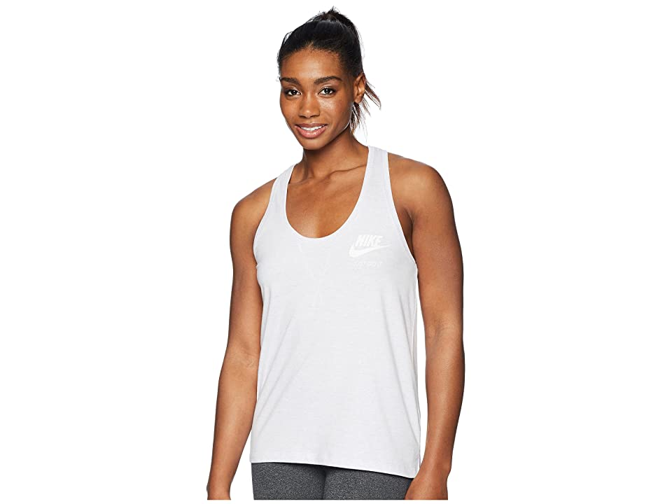 Nike Sportswear Gym Vintage Tank (Barely Grape/Sail) Women