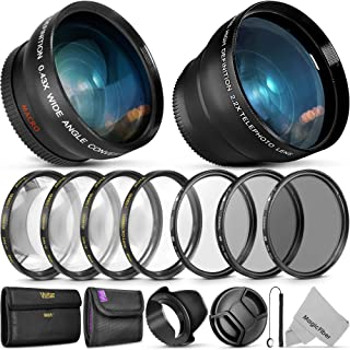3 Piece Lens Filter Kit Nw Direct Microfiber Cleaning Cloth. 72mm Sony Alpha a7S II High Grade Multi-Coated Made by Optics Multi-Threaded