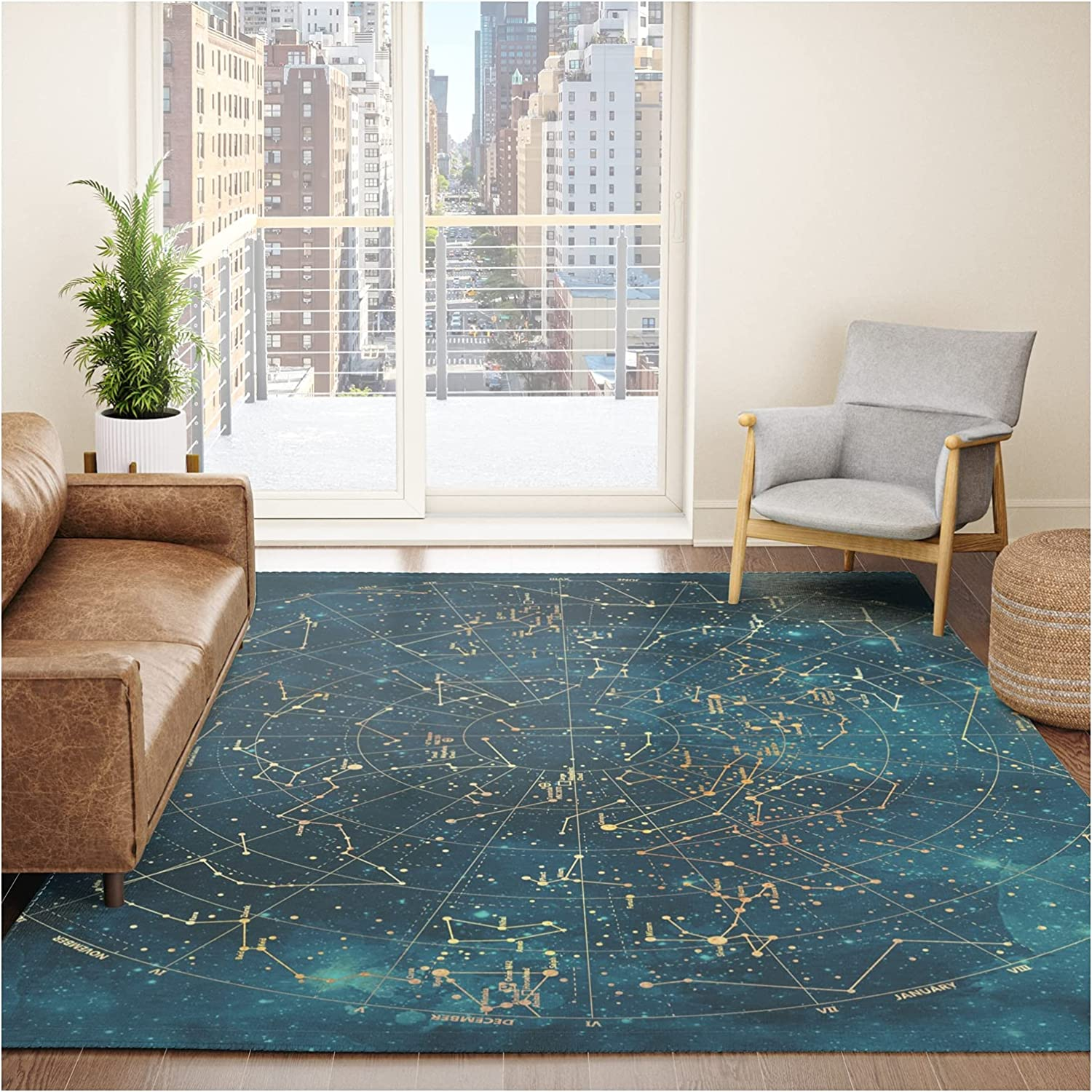 Under Constellations by discount ''cvogiatzi. on Modern x Rug - 8' Throw Max 86% OFF