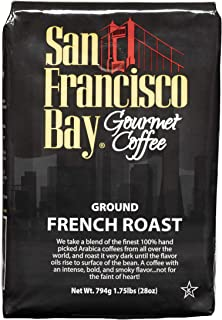 SF Bay Coffee French Roast 28 Ounce Ground Dark Roast (Packaging May Vary)