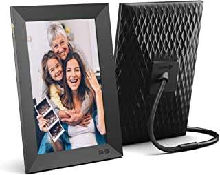 Nixplay Smart Digital Photo Frame 10.1 Inch - Share Moments Instantly via E-Mail or App
