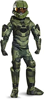Disguise Costumes Master Chief Prestige Costume, Small (4-6), One Color
