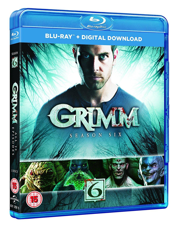 Grimm: Season 1 year warranty Blu-ray 6 gift