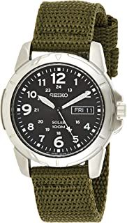 Seiko Men's Solar Quarts Watch, SNE095P2
