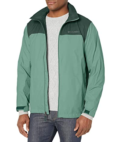 Columbia Glennaker Laketm Rain Jacket (Thyme Green/Spruce) Men