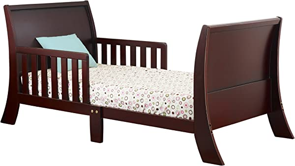 Orbelle Trading The Orbelle Louis Philippe Toddler Bed Cherry