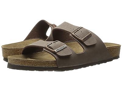 Birkenstock Arizona Birkibuctm (Unisex) (Mocha Birkibuctm) Sandals