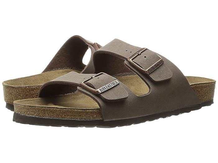Birkenstock  Arizona - Birkibuctm (Unisex) (Mocha Birkibuctm) Sandals
