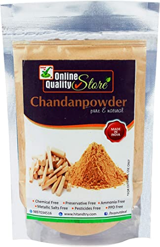 Sandalwood powder pure organic for skin whitening chandan powder for face With Size Options Offer for Today 50Gm