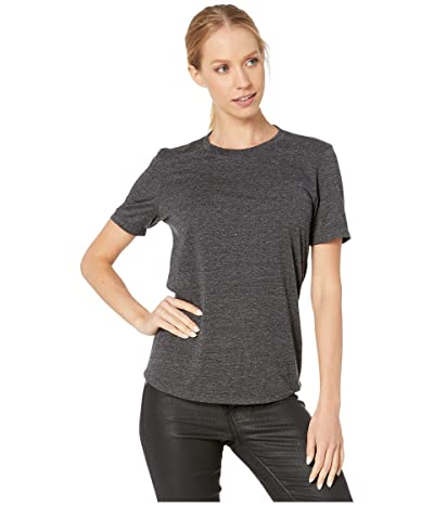 AG Adriano Goldschmied Gray Boy Tee (Heather Charcoal) Women