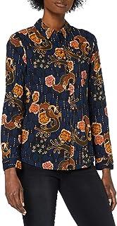 Scotch & Soda dames shirt Regular fit cotton viscose shirt
