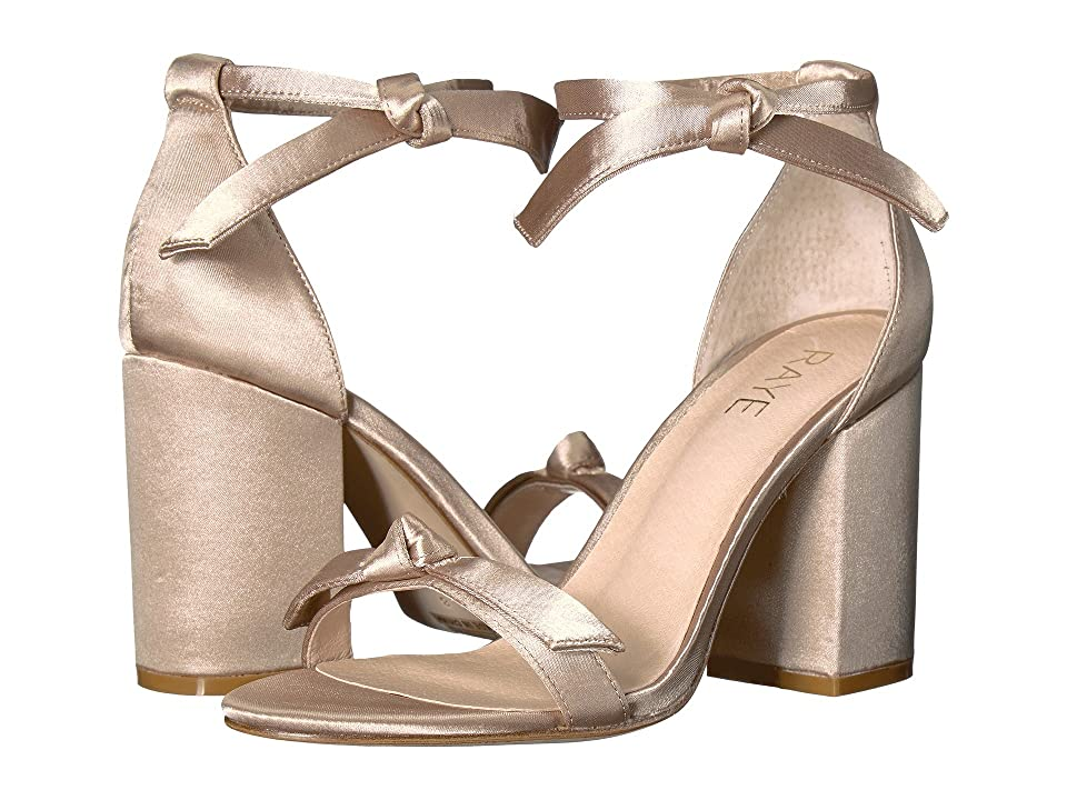 RAYE Brett (Nude Satin) High Heels