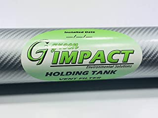 Green Impact - Marine Boat Holding TankReplacement Vent Filter (NO Fittings)