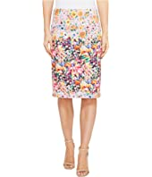 Nally & Millie - Printed Reversible Pencil Skirt