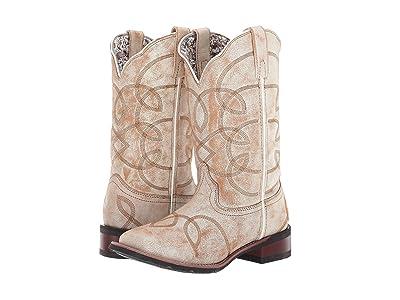 Laredo All Mixed Up (Sanded Tan) Cowboy Boots